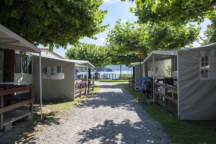 Maxi caravan Lago d'Orta